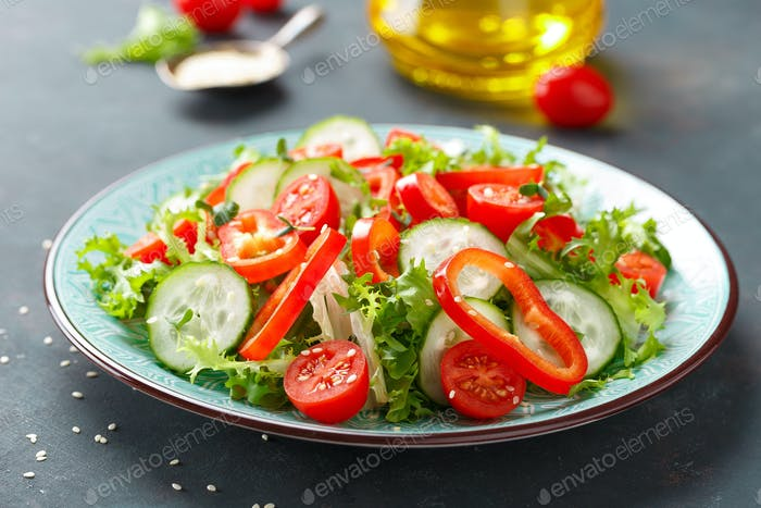 Vegetarian vegetable salad