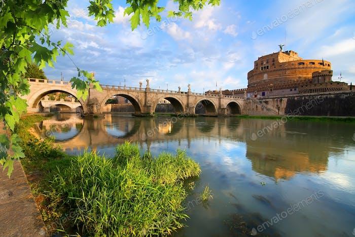 Italienische Brücke von Saint Angelo