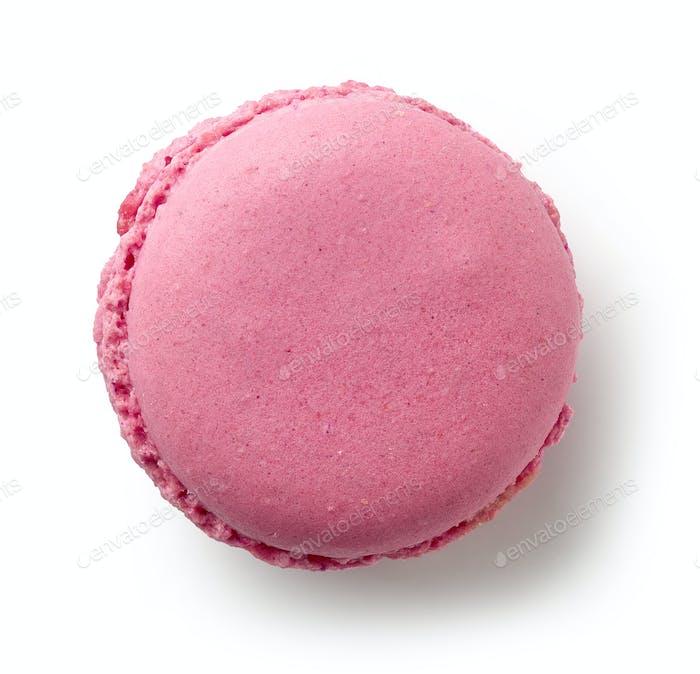 pink raspberry macaroon