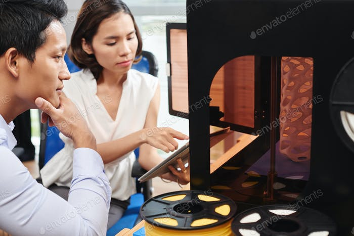 Control de la impresora 3D
