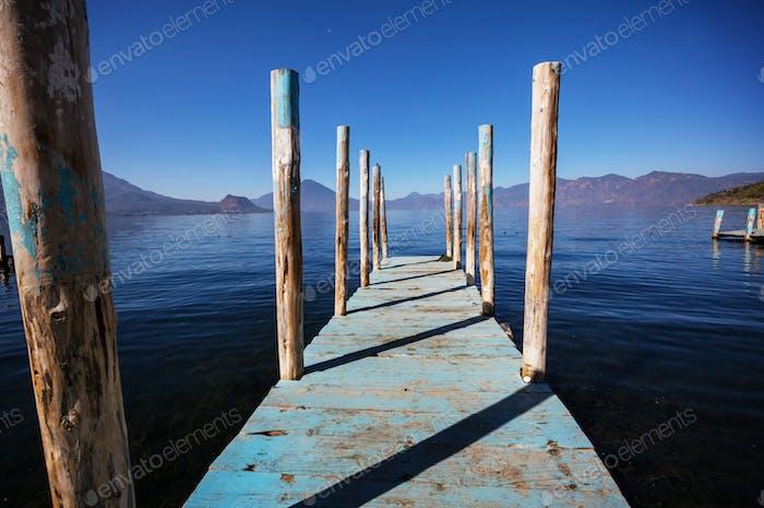 Atitlan lake