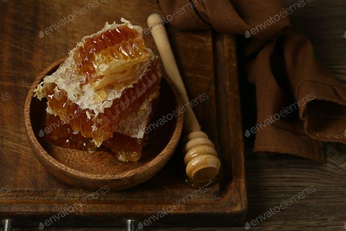 Natural Organic Honeycombs