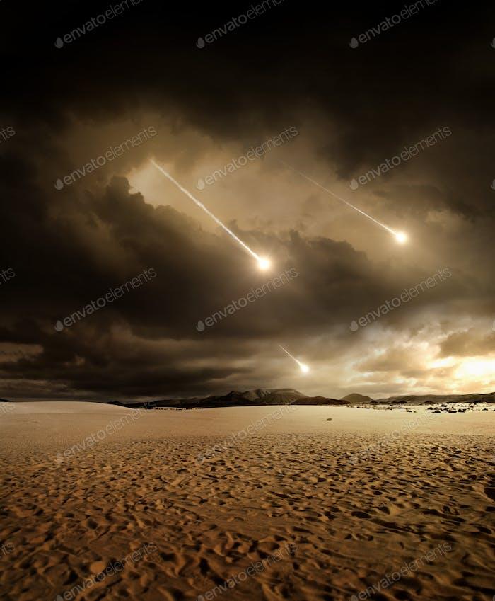Desert meteors