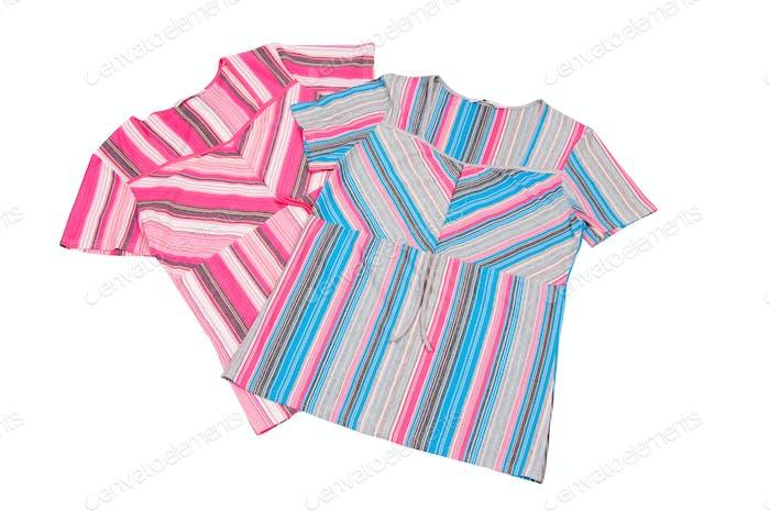 Two striped dress.