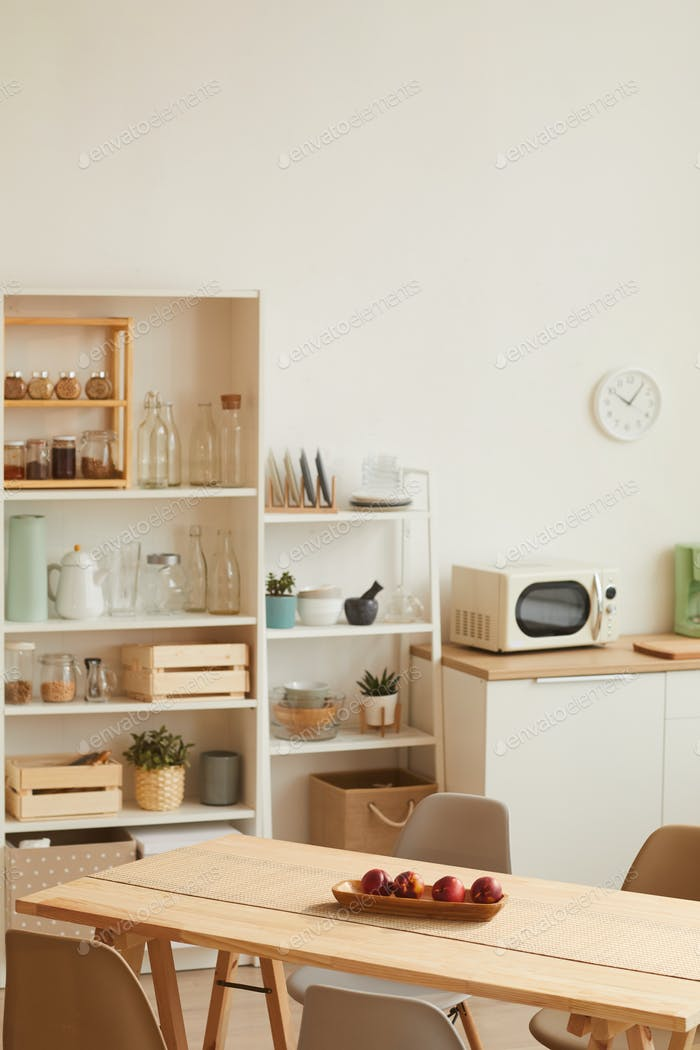 Homey Kitchen Interior
