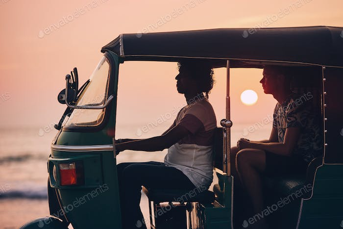 Journey by tuk tuk