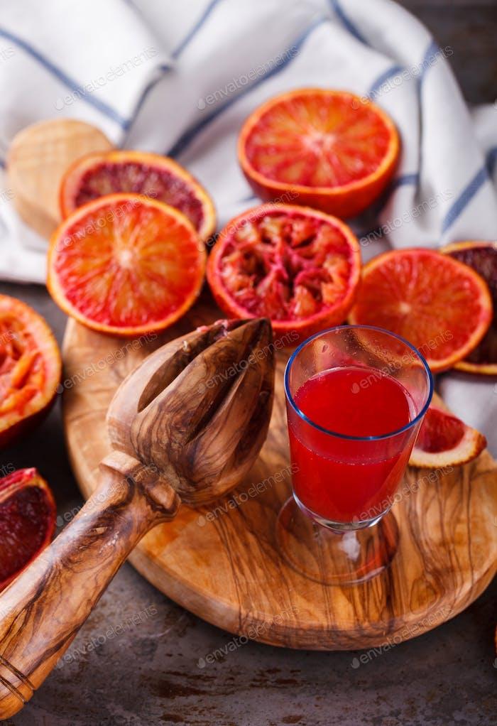 Vitamin drink for immunity against the virus.