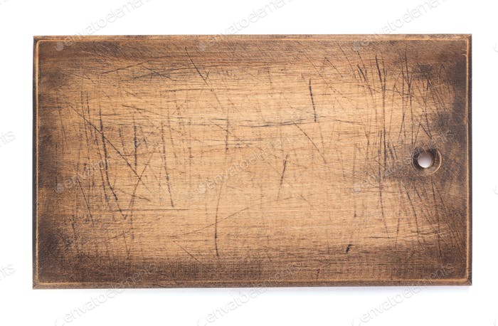 cutting board or tray on white background