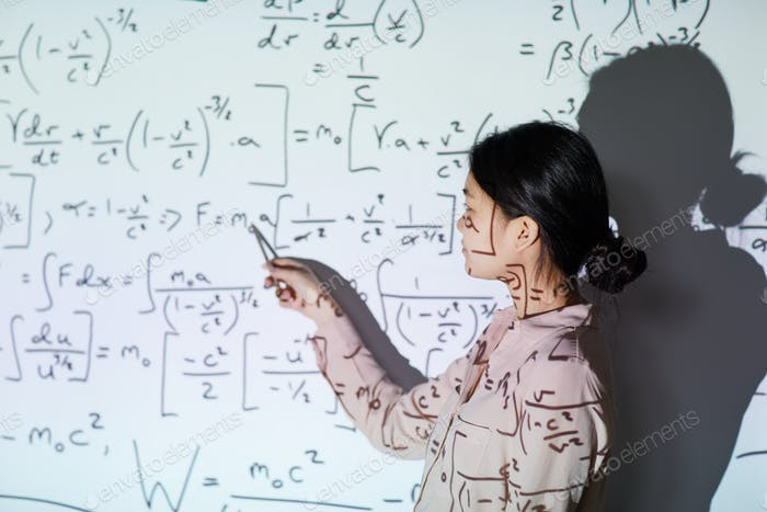 Math student presentation