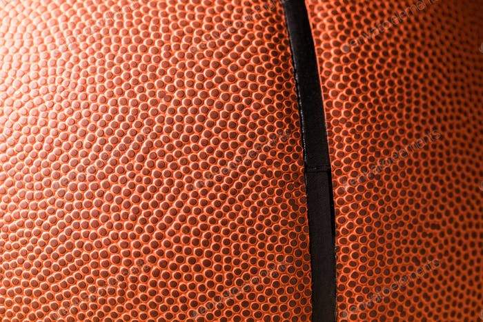 Orange Basketball skin close up
