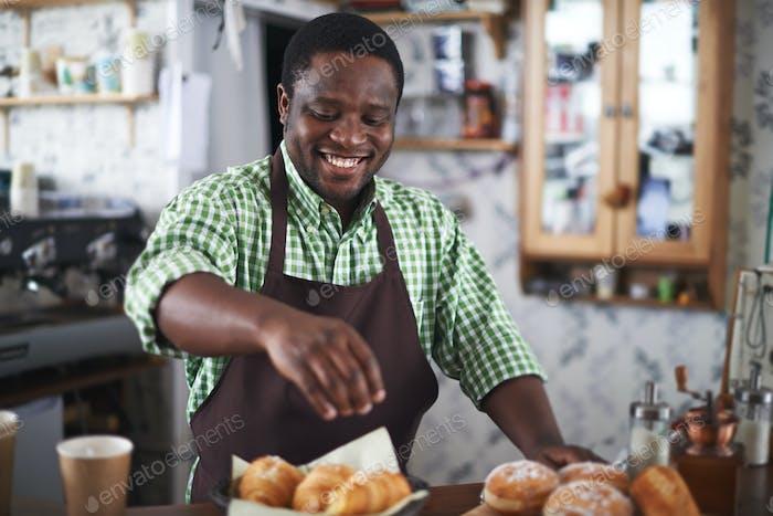 Selling buns