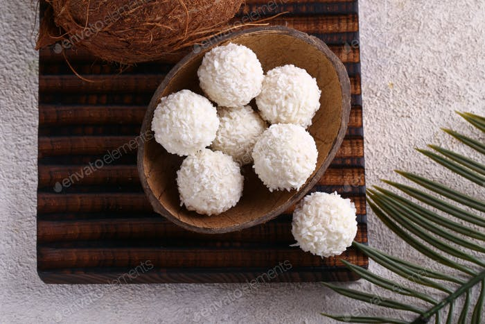Organic Coconut Candy