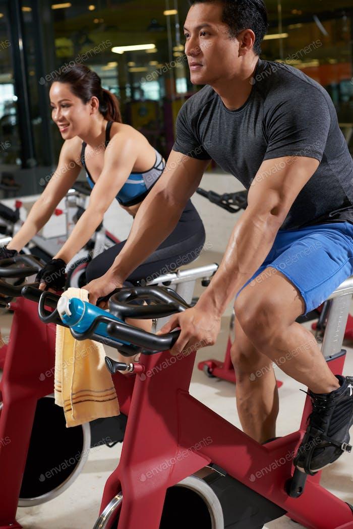 Doing Cardio Exercise