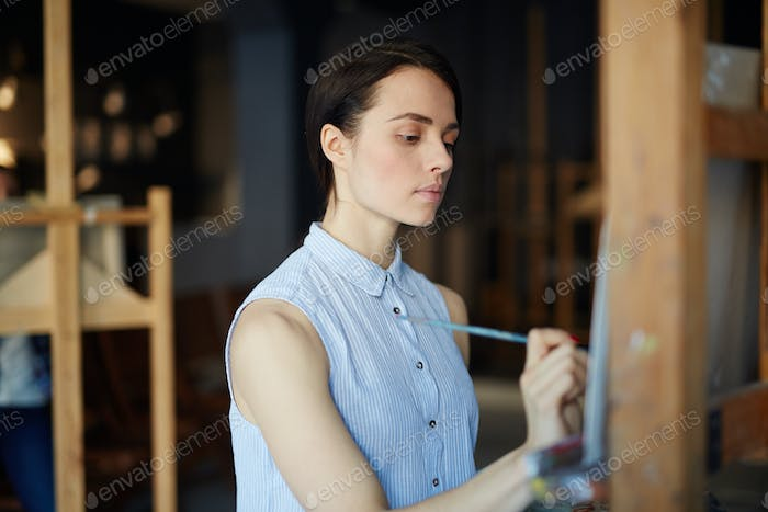Student of art faculty