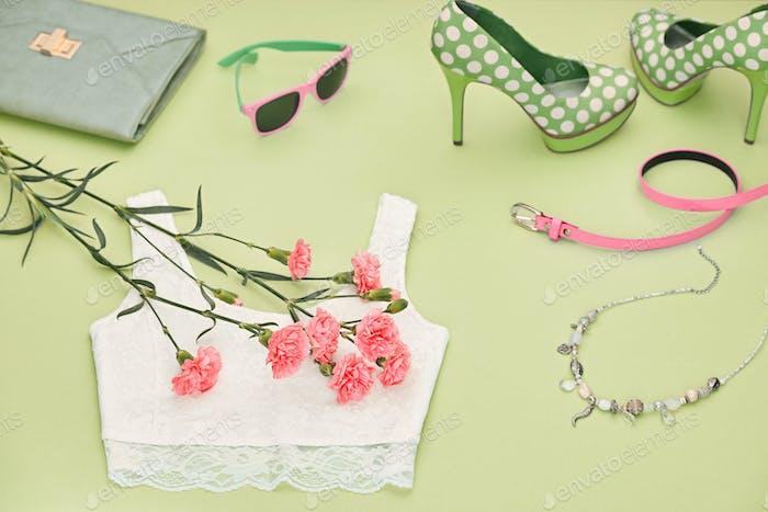 Fashion Design Luxus Kleidung Accessoires Outfit