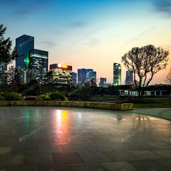City and platform