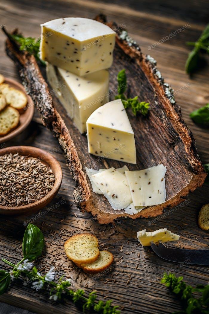 Stillleben von Käse