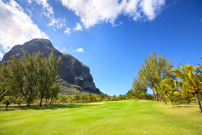 Golf Course in Mauritius