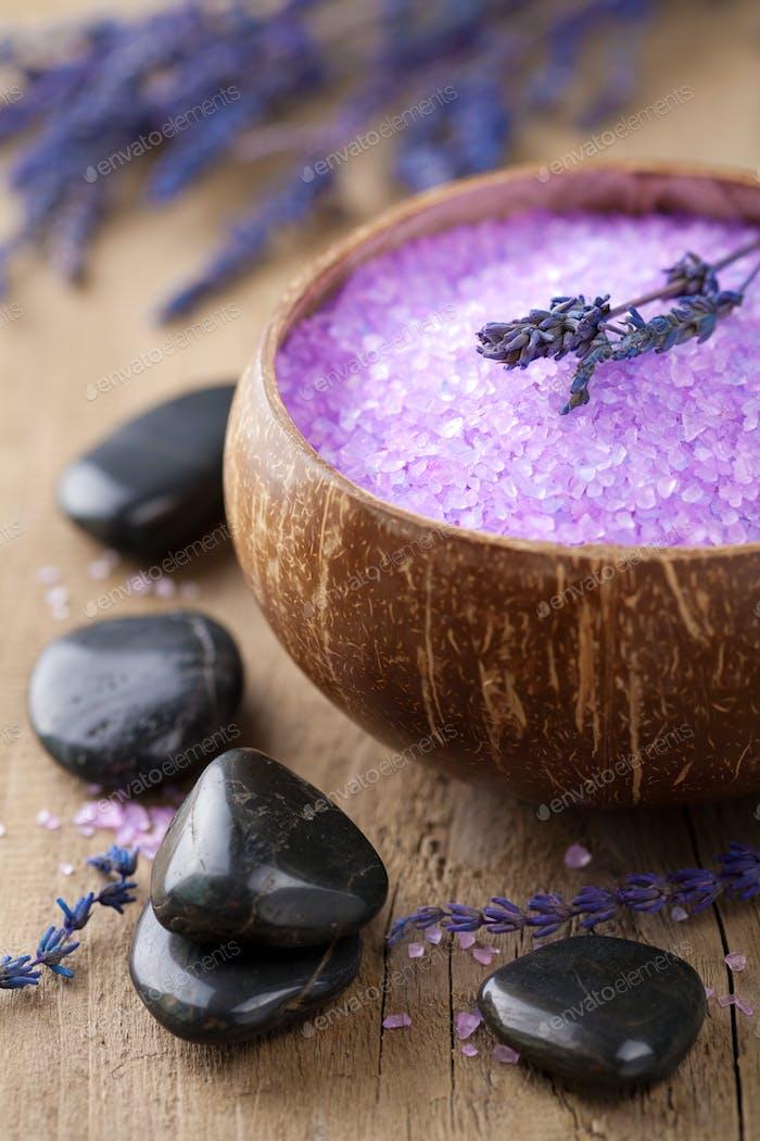 lavender salt for spa