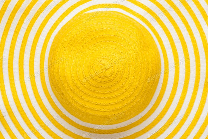 Top View Of Yellow Hat