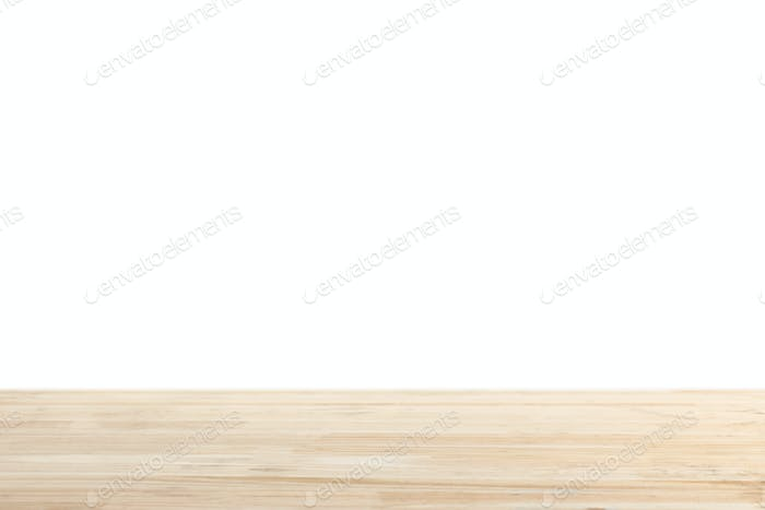 light brown striped wooden background on white