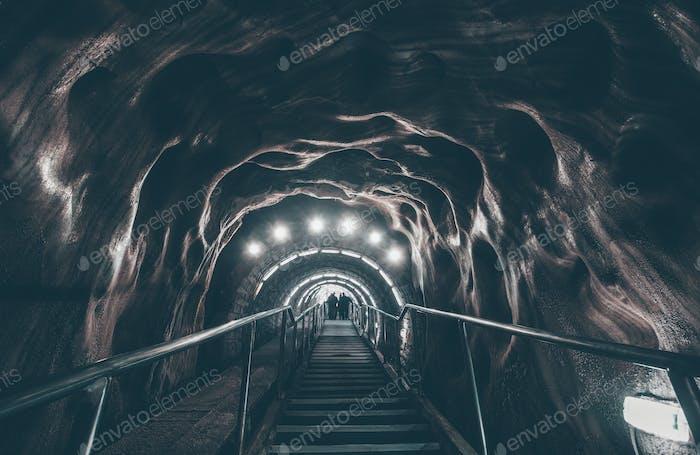Corredor de la mina de sal