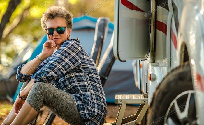 Motorhome Camper Van Trip