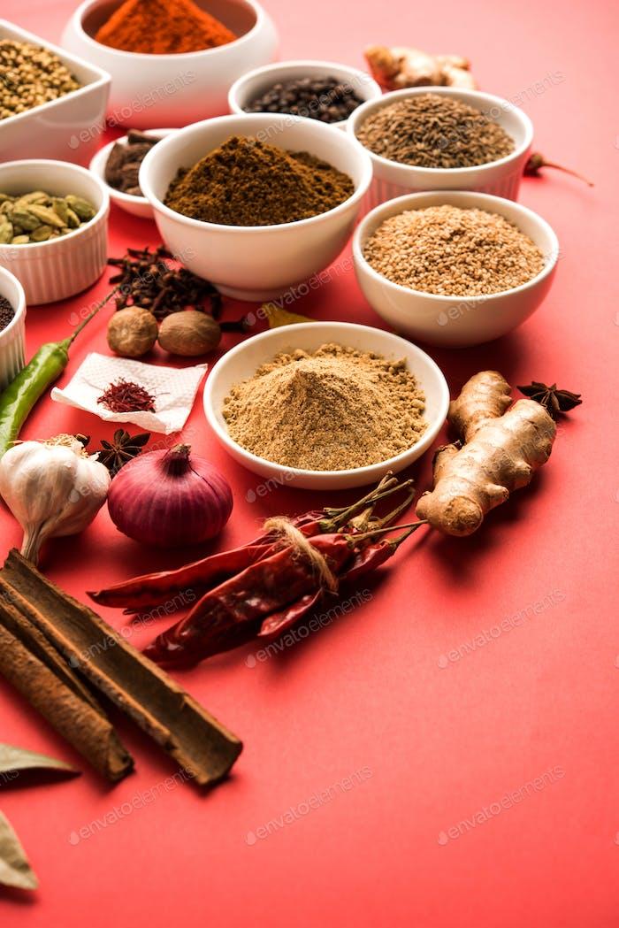 Garam Masala / Indian Spices