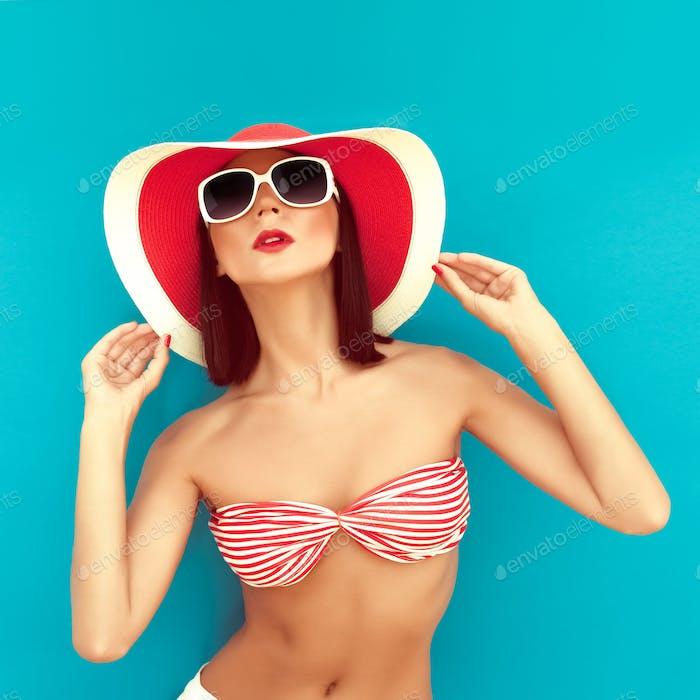 sinnliche Mädchen Sommer