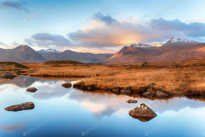 Lochan na Stainge in Scotland