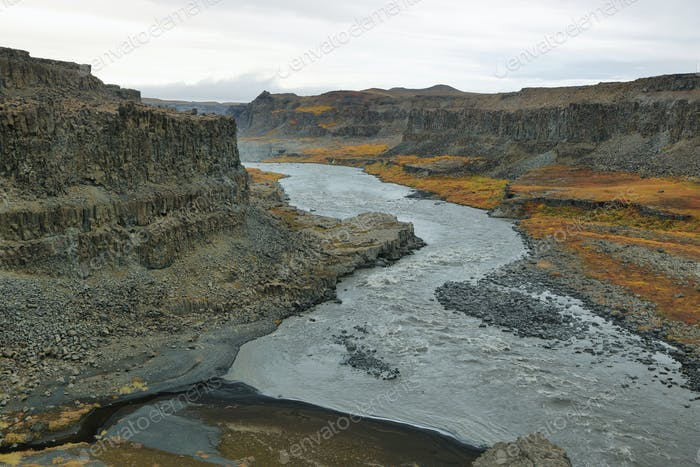 Jokulsargljufur canyon