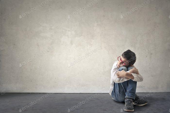 Alone child
