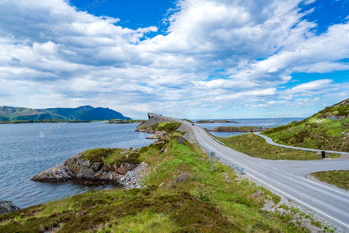 Atlantic Ocean Road Norwegen