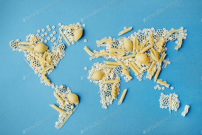 World from spaghetti