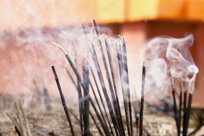 45750,Burning Incense