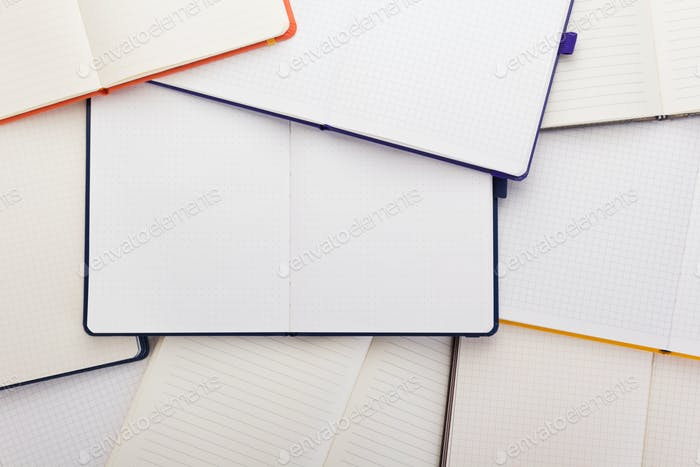 notepad or notebook paper as background