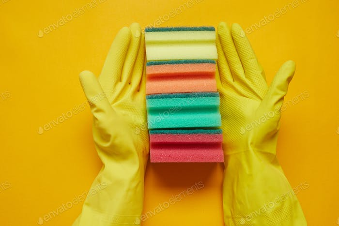 Sponges for housework