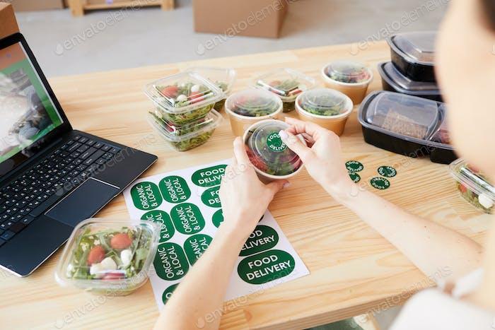 Healthy food delivery service
