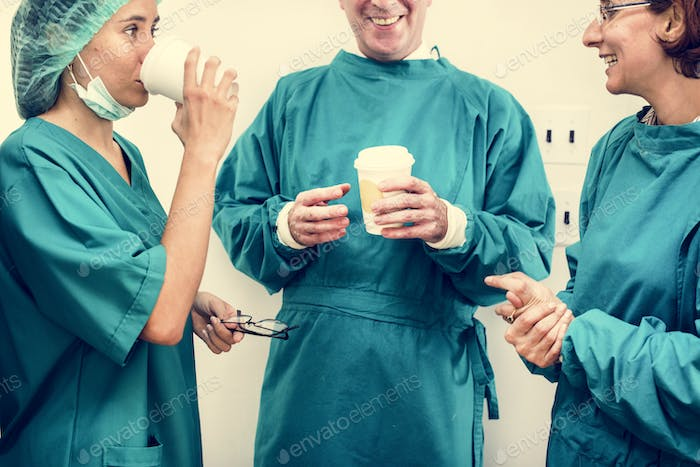 Doctors on a breaktime