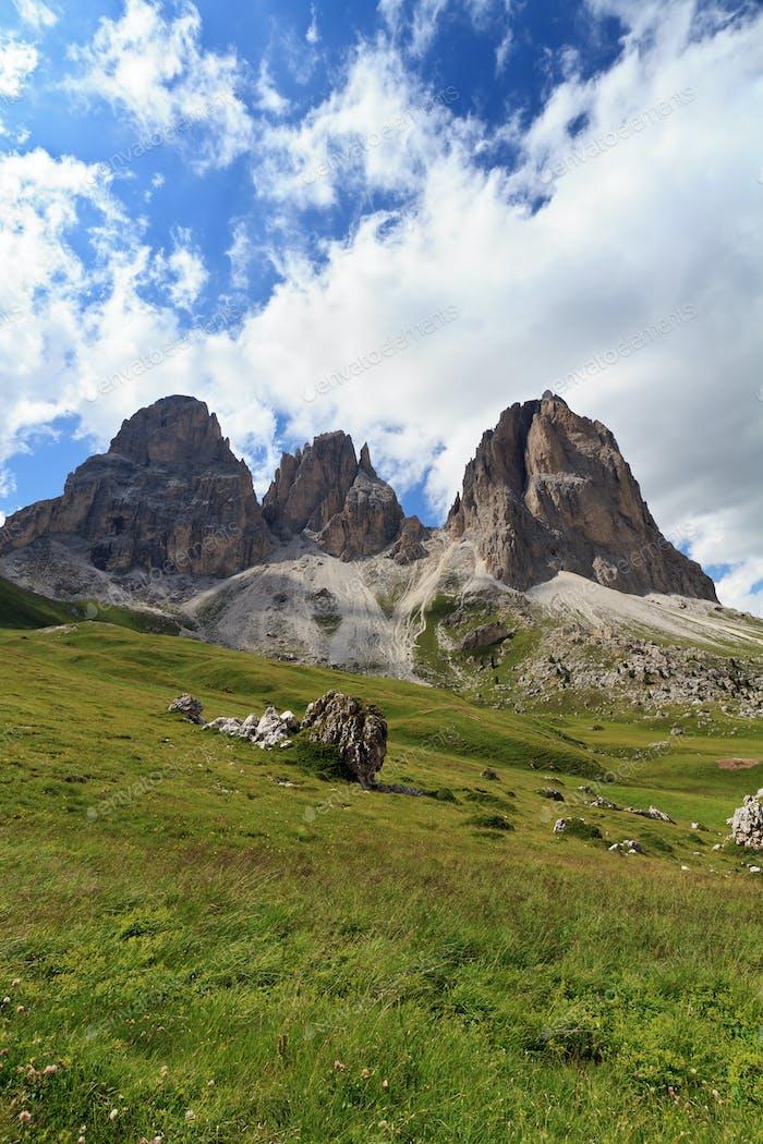 Langkofel - Sassolungo mountain