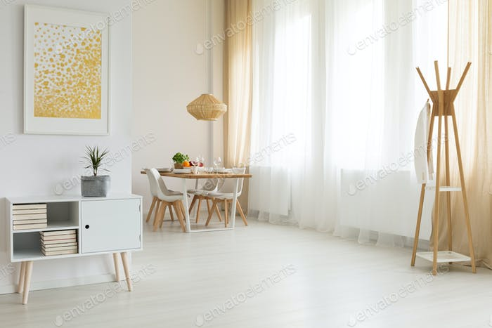 Bright and simple interior