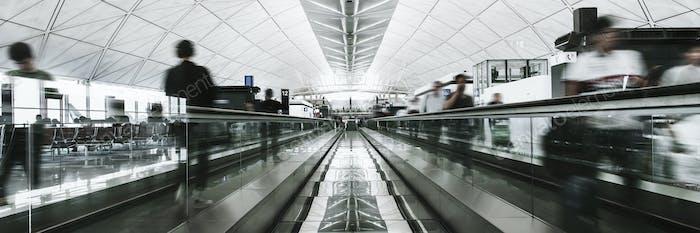 Pasarela de la terminal internacional