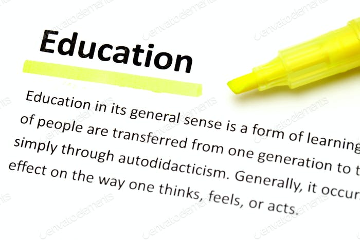Definición de la educación