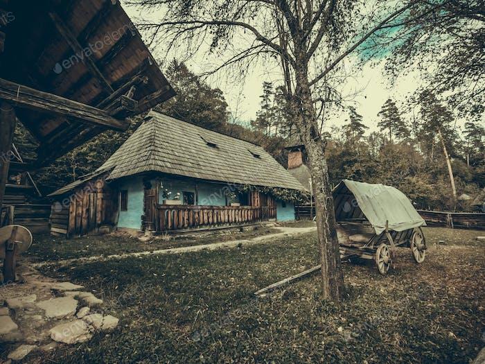 Vieja casa rumana