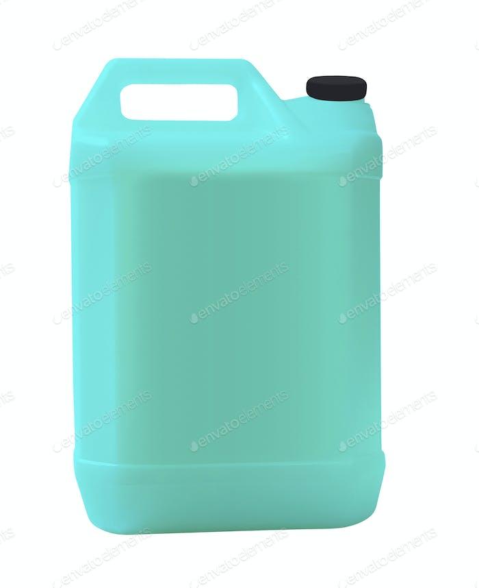 Kunststoff Kanister Öl, Reinigungsmittel, Reinigungsmittel, Abstergent, Flüssigseife, Milch, Saft