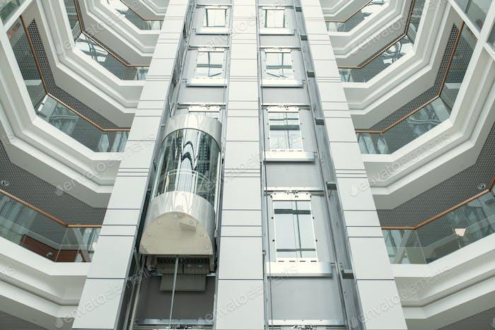 High modern office building