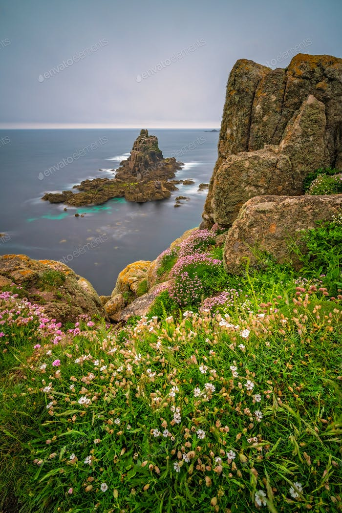 Coastal landscape of the Lands End