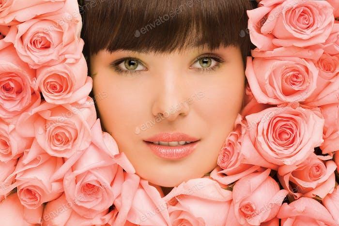 Floral girl.