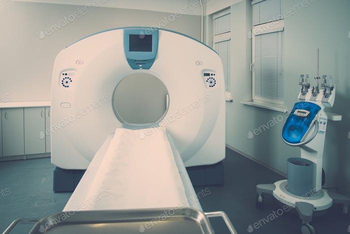 Computertomographie-Scanner in einem Krankenhaus
