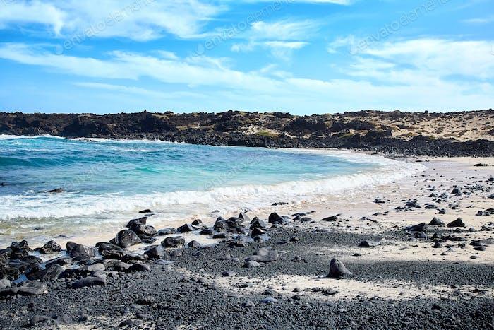 Landscape Of Lanzarote Island Canaries